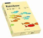 Rainbow gekleurd papier A4 160 gram 6 chamois 250 vel