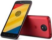 Motorola Moto C plus metallic cherry
