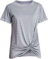 Rohnisch Knot Tee Sportshirt Dames - Grey Melange