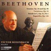 Beethoven: Sonatas, Op. 26 & Op. 29; Variations, Op. 34; Rondo in C, Op. 51, No. 1; Bagatelles, Op. 126