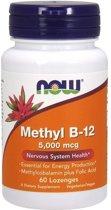 Methyl vitamine B12 5000 mcg (60 Lozenges) - Now Foods