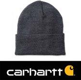 Carhartt Muts Acrylic Watch Hat Coal Heather grijs - Beanie