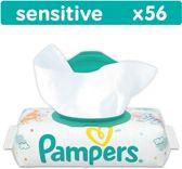 Pampers Sensitive - 56 Stuks - Babydoekjes
