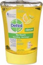 EOL Dettol Healthy Touch No Touch Recharge Anti odeur Fraicheur Citron 250 ml