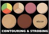 Miss Cop Contouring & strobing powder palette