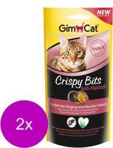 GimCat Crispy Bits Anti Hairball - Kat - Snack - 2 x 40 gr