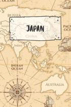 Japan: Ruled Travel Diary Notebook or Journey Journal - Lined Trip Pocketbook for Men and Women with Lines