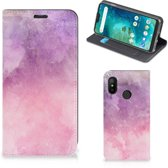 Xiaomi Mi A2 Lite Bookcase Pink Purple Paint