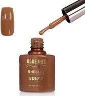 Blue Fox Autumn Brown Gelnagellak