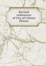Revised Ordinances of City of Urbana Illinois