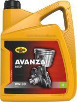 Kroon-Oil Avanza MSP 0W-30 - Motorolie - 5L