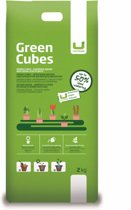 Urbanscape Greencubes 2 kg - Biologische Plantenvoeding & Lavameel - Bodemverbeteraar - Lavagruis - Organische meststoffen