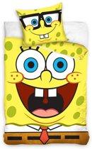 Spongebob Squarepants - Dekbedovertrek - Eenpersoons - 140x200 cm + 1 kussensloop 70x80 cm - Multi kleur