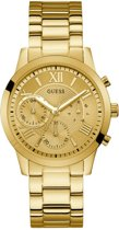 GUESS Watches -  W1070L2 -  Horloge -  Vrouwen -  RVS - Goudkleurig -  40  mm