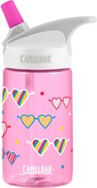 CamelBak Eddy Kids drinkfles - 400 ml - Roze (Love Glasses)