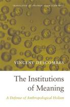 The Institutions of Meaning