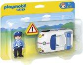 Playmobil 123 Politiewagen met agent - 6797