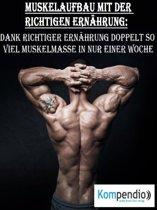 Muskelaufbau mit der richtigen Ernährung