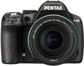 Pentax K 50 + DA 18-135mm WR - Spiegelreflexcamera - Zwart