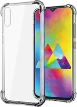 Samsung Galaxy A10 Hoesje Shock Proof Siliconen Hoes Case TPU Cover