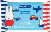 Dermo Care Nijntje toetendoekjes – blauw – 10 x 40 stuks