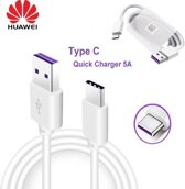 Huawei USB-C Fast Charge Kabel - 1 Meter - Wit