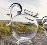 Baci Milano Aqua acryl schenkkan / waterkaraf op voet transparant circa 2,5L in mooie giftbox