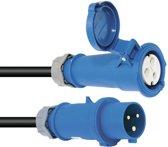 PSSO CEE-Kabel 32A 3x6 10m blauw