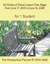 The Homeschool Planner SY 2019-2020 for 1 Student