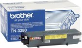 Brother TN-3280 Tonercartridge - Zwart / HC