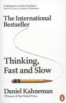 Boek cover Thinking, fast and slow van Daniel Kahneman (Paperback)