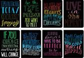 Mini Pocket Pal Journals - Set of 8 - Quotations