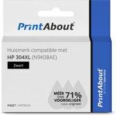 Huismerk compatible met HP 304XL (N9K08AE) Inktcar
