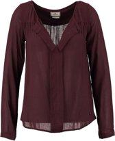 Replay bordeaux blouse shirt - Maat S