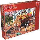Jumbo Puppie Streken - Puzzel - 1000 stukjes
