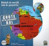 Carly Toys Maxi Globe Opblaasbare Wereldbol 50 cm Nederlands