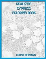 Realistic Cypress Coloring Book