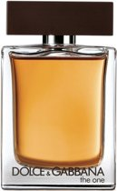 MULTI BUNDEL 2 stuks Dolce and Gabbana The One Men Eau De Toilette Spray 50ml
