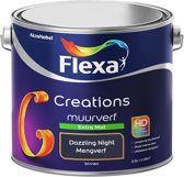 Flexa Creations Muurverf - Extra Mat - Dazzling Night - 2,5 liter