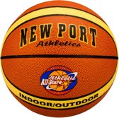 New Port Basketbal Gelamineerd - Athletic All-stars - Roestbruin/Beige/Zwart - 7