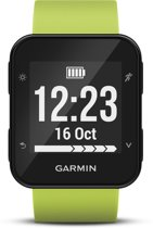 Garmin Forerunner 35 limelight - GPS Hardloophorloge - met polshartslag meting - Ø 35,5 x 40,7 - limelight