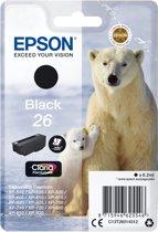 Epson 26 - Inktcartridge / Zwart