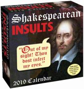 Shakespearean Insults Page-A-Day Scheurkalender 2019