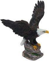 Decoratie beeldje Amerikaanse zeearend 11 cm