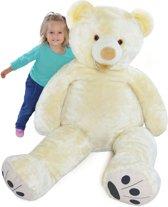 XXL teddybeer - wit - 160 cm