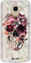 Casetastic Softcover Samsung Galaxy J6 (2018) - Flower Skull