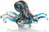 Glassculptuur Inktvis