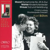 Mahler, Strauss; Ludwig, Bohm