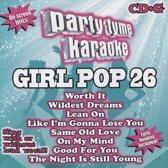 Party Tyme Karaoke: Girl Pop 26