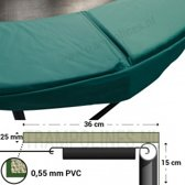 Trampoline Rand Magic Circle Pro 360 - 366 cm Groen